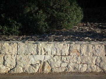 pared seca dry stone margera muro mamposteria